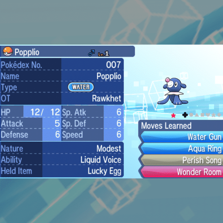 Starters Package - Popplio