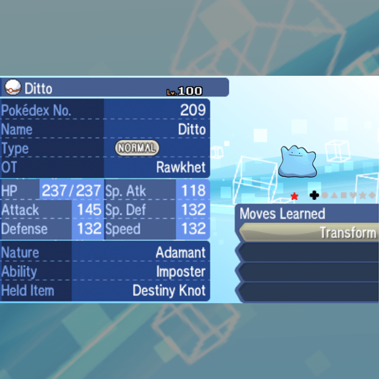Ditto Package - Shiny English
