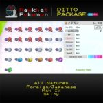 Ditto Package (25x, All Natures, Breeding Items, 6IV, Shiny, Foreign, Japanese) - Pokemon Sword and Shield